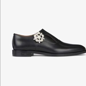 Givenchy Jewelry Buckle Monk Strap Derby Shoes